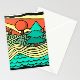 British Columbia in a Nutshell Stationery Cards