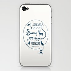 I Solemnly Swear... iPhone & iPod Skin