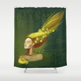 Womanhood Shower Curtain