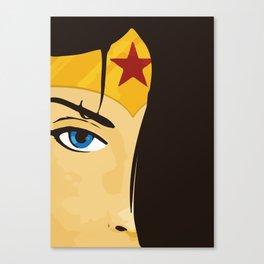Wonder, Hero DC, Woman Canvas Print