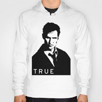 true detective Hoodies featuring True Detective by Green'n'Black