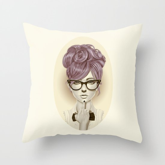 Fu*k U Throw Pillow