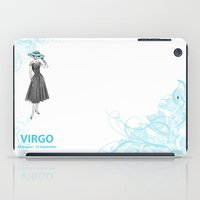 virgo iPad Cases featuring Virgo by Cansu Girgin