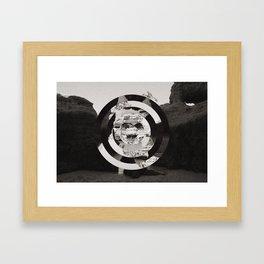 Algarve in Circles Framed Art Print