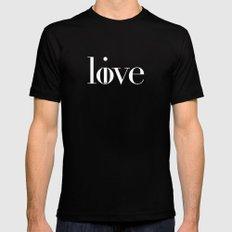 Love Live Black MEDIUM Mens Fitted Tee