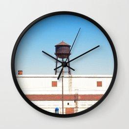 Water Tower Wall Clock