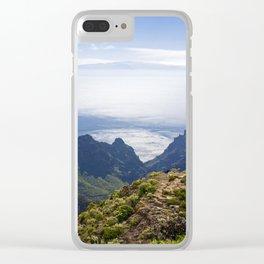 Tenerife's landscape Clear iPhone Case