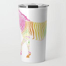 Zebra 7A Travel Mug