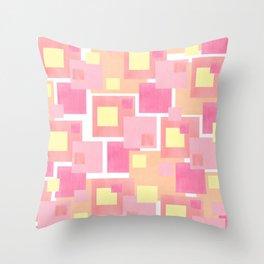 Colour Blocks 2 Throw Pillow