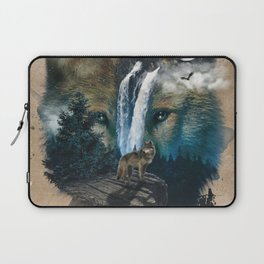 Calm of the Wolf Laptop Sleeve