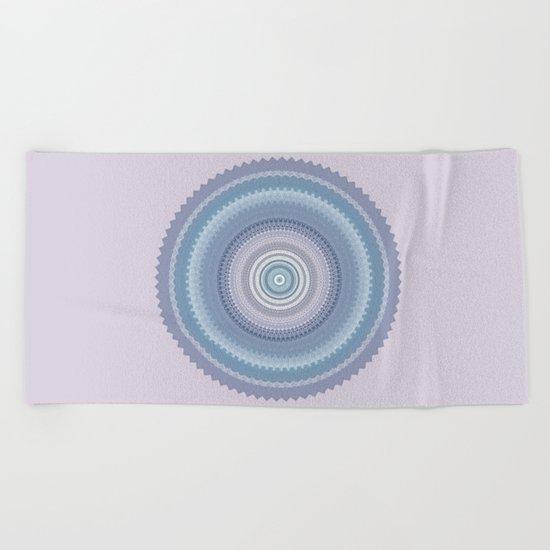 Inspirational Mandala Beach Towel