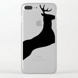 Deer 1 Clear iPhone Case