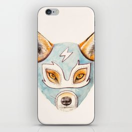 Andrew, the Fox Wrestler iPhone Skin