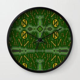 Nn - pattern 1 Wall Clock