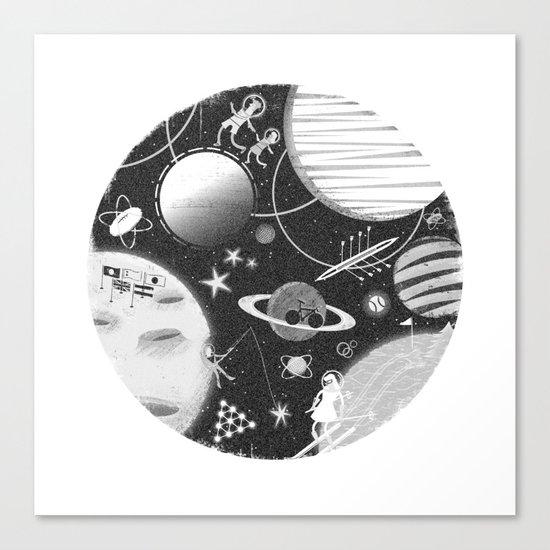 SPACE & SPORT Canvas Print