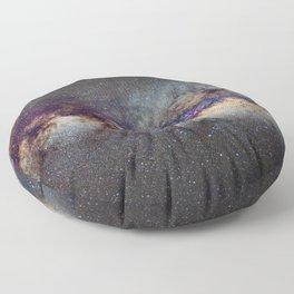 The Milky Way: from Scorpio, Antares and Sagitarius to Scutum and Cygnus Floor Pillow