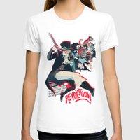 revolution T-shirts featuring Revolution! by yamineftis