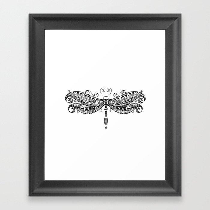 Dragonfly dreams Gerahmter Kunstdruck