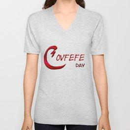 Covfefe Day Unisex V-Neck