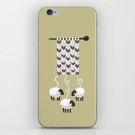 Wool Scarf iPhone Skin