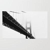 bridge Area & Throw Rugs featuring bridge by bombshell