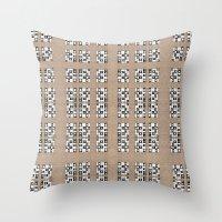 quilt Throw Pillows featuring Quilt by Finn Wild