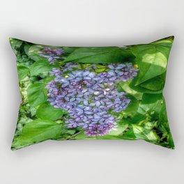 Lilacs in May Rectangular Pillow