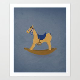 Abandoned Toys   Noble Steed Art Print