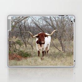 Longhorn Cattle Laptop & iPad Skin