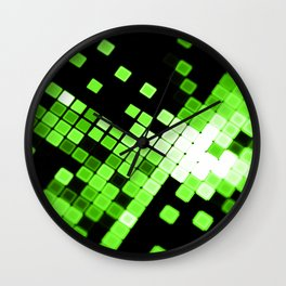 GREEN SPARKS Wall Clock