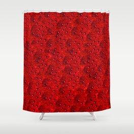 Scarlet Eft Shower Curtain