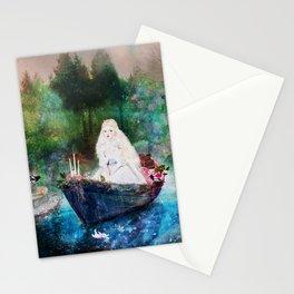 lady of shalott Stationery Cards
