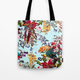 Floral and Birds XXXIV Tote Bag
