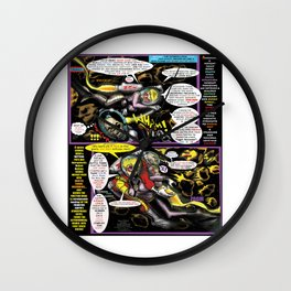 Page #4 of Tex Watt's  (UNCENSORED) SUNDAY COMIX POP-ART Wall Clock