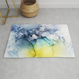 Abstract SunShine Sky Rug