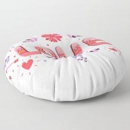 Flora Love Boho Style Floor Pillow