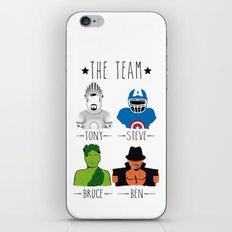 THE TEAM iPhone & iPod Skin
