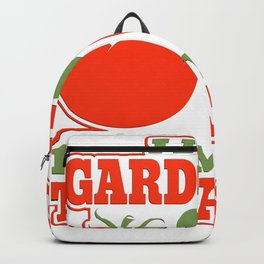 I Love Gardening From My Head Tomatoes Backpack