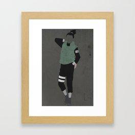 Shikamaru Framed Art Print
