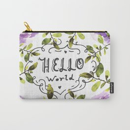 Hello world (everyday 7/365) Carry-All Pouch