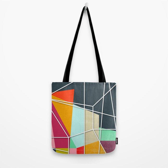 ColorBlock V Tote Bag