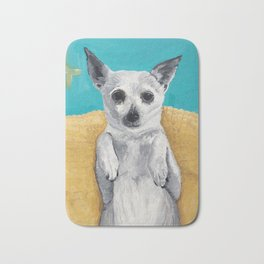 Rat Terrier Bath Mat