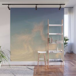 Wandering in the clouds Wall Mural