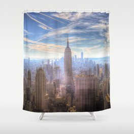 New York City View Shower Curtain