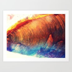 Rainbow Wave Art Print