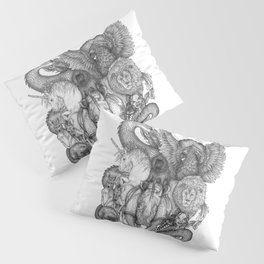 The Impossible Menagerie Pillow Sham