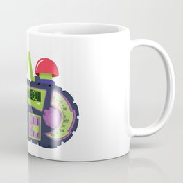 Nickelodeon Clock Coffee Mug