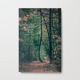 Bendy Tree Metal Print