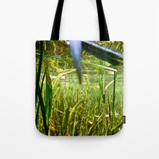 Submerged Grass Tote Bag