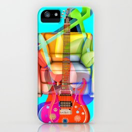 Play My Guitar iPhone Case